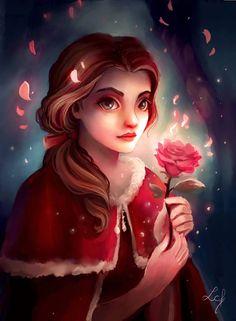 And other Disney Princess : Mulan! Mulan and her Lotus Flower Disney Belle, Bella Disney, Disney Princess Art, Disney Fan Art, Disney Girls, Disney Love, Disney Pixar, Disney Animation, Disney And Dreamworks