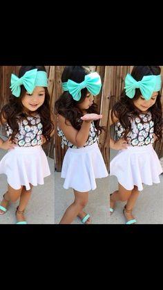 Messy Bow head wrap <3 Kid Fashion