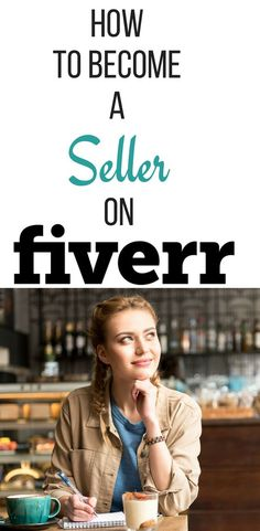 How To Become A Seller On Fiverr - Fiverr Outsource - Outsource your work on Fiverr and save your time. - Want some Fiverr gigs ideas to make money then you want to know how to use Fiverr to build a side income that could become a main income Earn Money Online, Make Money Blogging, Make Money From Home, Money Tips, Way To Make Money, Online Earning, Money Fast, Saving Money, Be Your Own Boss