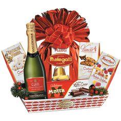 Originalität und Eleganz sind unerlässlich für die Auswahl der Produkte, die wir zu Weihnachten in die Pakete unserer Korbauswahl legen