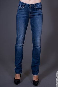 7 for All Mankind Kimmie Straight Leg $198.00