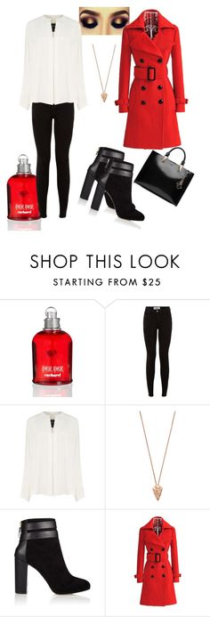 """""""Untitled #38"""" by inaey ❤ liked on Polyvore featuring Cacharel, New Look, Derek Lam, Pamela Love, Coye Nokes and Karl Lagerfeld"""
