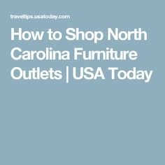1000 Ideas About North Carolina Furniture On Pinterest