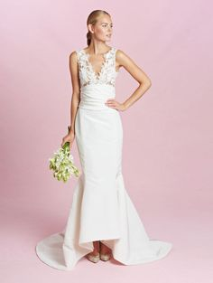 The New Oscar de la Renta Wedding Dresses- -love ♡ this one.