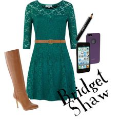 Bridget Shaw's outfit from Nancy Drew- The Silent Spy. Looks just like it! #NancyDrew #HerInteractive #Style