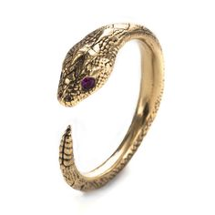Pamela Love | Serpent Ring. love her designs.