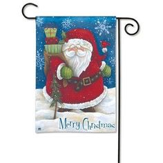 Snow Santa Garden Flag by Magnet Works, Ltd.. $16.00. Snow Santa Garden Flag.. 100% All-Weather Polyester. Fade and Mildew Resistant. Machine washable.. 100% safe & secure shopping; Superior customer service.. Exceptional customer service and unparalleled product expertise.. The design of this product is very exquisite and beautiful.. MAIL39321 Features: -Fade and mildew resistant.-Machine washable. Construction: -Constructed of100pct polyester. Dimensions: -Dimensions:...