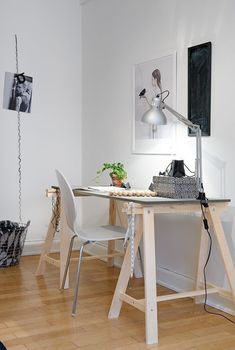 mesa caballete