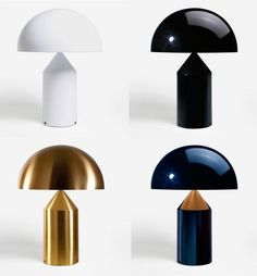 Table Lamp Atoll by the great Milanese designer Vico Magistretti www.italianwa … – DESIGN - All For Lamp İdeas Deco Luminaire, Luminaire Design, Led Light Design, Lighting Design, Interior Lighting, Modern Lighting, Bedroom Lighting, Italian Lighting, Atollo Lamp