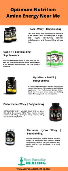 shake to gain muscle workout Are you searching for optimum nutrition amino energy near me? you're searching end because we provide amino energy at a very effective price. Supplements For Muscle Growth, Protein Supplements, Best Supplements, Nutritional Supplements, Lean Protein, Protein Shakes, Best Protein Supplement, Athletes Diet, Fast And Slow