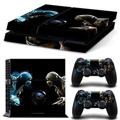 GoldenDeal PS4 Console and DualShock 4 Controller Skin Set  Kombat Duel  PlayStation 4 Vinyl Mortal Fight *** More info could be found at the image url.Note:It is affiliate link to Amazon.