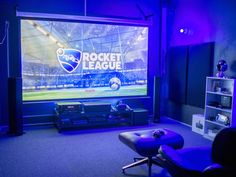 118 reference of game room Setup Gamer For Business - Home Theater Computer Gaming Room, Gaming Room Setup, Gaming Rooms, Pc Setup, Game Room Design, Small Room Design, Deco Gamer, Office Games, Office Setup
