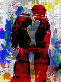 'Italian love' von Gabi Hampe bei artflakes.com als Poster oder Kunstdruck $20.79