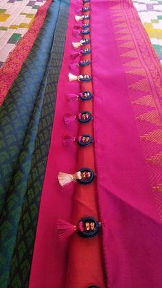 New Crochet Dress Prom Ideas Saree Tassels Designs, Saree Kuchu Designs, Silk Dupatta, Silk Sarees, Kids Dress Patterns, Crochet Hat For Women, Indian Designer Wear, Saree Collection, Prom Dresses