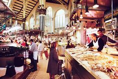 Mercado Central in Valencia, Spain