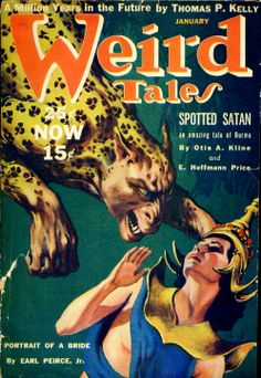 1940 Weird Tales cover by Virgil Finlay