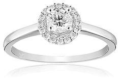 IGI Certified 14k Diamond Engagement Ring (1/2cttw, H-I Color, I1-I2 Clarity)