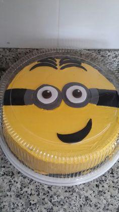 Pastel de cumpleaños de minions