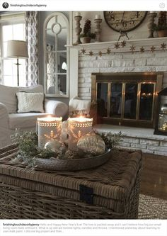 Change Your Living Room Decor on a Limited Budget in Six Steps Decor, Home Decor Inspiration, Dream Decor, Home, Country Decor, Living Room Decor Neutral, Small Living Room, House Interior, Farmhouse Living