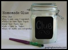 This Homemade Glue is AMAZING! It's my go to recipe for any paper craft but especially for paper mache projects! It's so cheap to make and it dries clear. Ingredients- 1 cup Cornflour or Cornstarch 1 tablespoon of white vinegar 2 teaspoons of Salt 4 cups of Hot Water Method – Place all the …