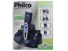 Aparador de Barba 1 Velocidade 7 em 1 - Philco Multigroom com as melhores condições você encontra no Magazine Comerciosdigital. Confira!
