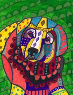 """""""Akbash Dog"""" par Heather Galler"""