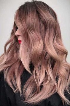 26 pretty rose gold hair colors 2018