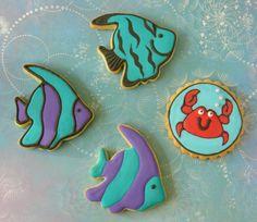Fish & Crab Cookies