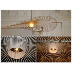 Suspension Noir Ø200cm - VERTIGO | Wire lamps | Pinterest | Vertigo ...