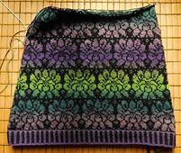 Ravelry: angelaxxx's Brocade Leaves Skirt