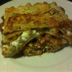 Pasta, Barbecue Lasagna, Using Prepared Pulled Pork In Barbeque Sauce Helps To Put An American Spin On This Classic Dish. Good Food, Yummy Food, Delicious Recipes, Crowd Recipes, Dinner Recipes, Oven Recipes, Recipies, Tasty, Barbecue