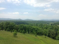 More of Pisgah National Forest from the back of the Biltmore House