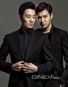 Kim Rae Won and Lee Min Ho - Cine21 Magazine No.988