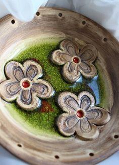 Keramická miska k dotvoření 8. Ceramic Clay, Fused Glass, Glaze, Jewelery, Pottery, Ceramics, Ring Holders, Handmade, Crafts