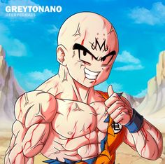 Another Majin Krillin just for fun