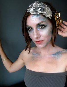 The Mermaid- Pretty idea for halloween!
