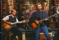 September 24, 1994 – Eric Clapton is tonight's special musical guest on the season premiere of Saturday Night Live.