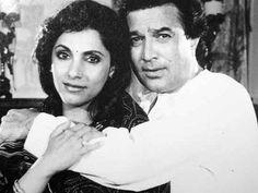 Rajesh Khanna and Dimple Kapadia -cosmopolitan.in