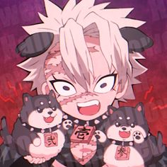 Anime Chibi, Anime Manga, Anime Guys, Demon Slayer, Slayer Anime, Demon Hunter, Black Panther Marvel, Cute Icons, Anime Demon