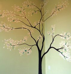 Think I want a tree painted in the nursery. . .