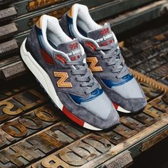 Inspired by the clean lines and minimalistic designs of the '50s and '60s, the New Balance 998 Distinct Mid-Century Modern is now available online! #sneakersnstuff #newbalance