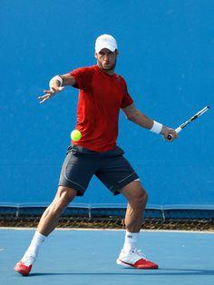 Feliciano Lopez - Australian Open: Day 2