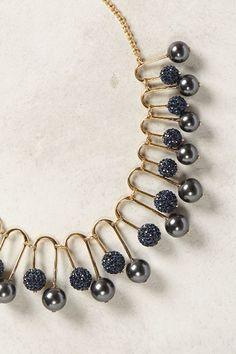 Sparkled Fan Necklace - anthropologie.com