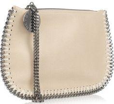 Stella McCartney Faux Leather Falabella Wristlet Handbag