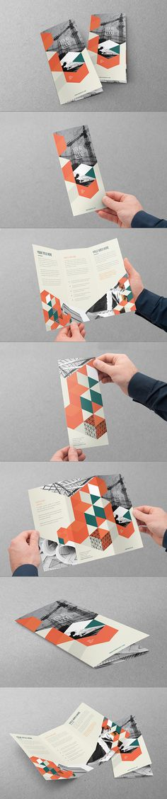 Modern Architecture Trifold. Download here: http://graphicriver.net/item/modern-architecture-trifold/11554702?ref=abradesign #trifold #brochure #design
