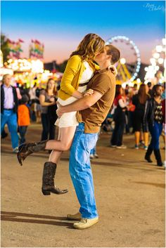 Love-Filled State Fair Engagement Session // Perry Vaile Photography