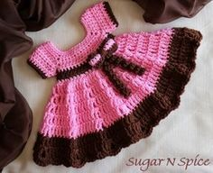 Baby Girl Dress Free Crochet Pattern