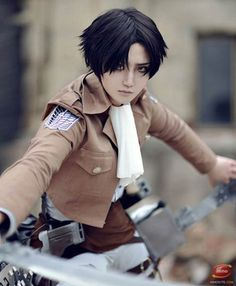 Levi #cosplay - Attack On Titan (進撃の巨人, Shingeki no Kyojin)