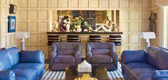 Kelly Wearstler Kelly Wearstler, Outdoor Furniture Sets, Outdoor Decor, Couch, Interior Design, Angles, Instagram Posts, Home Decor, Nest Design