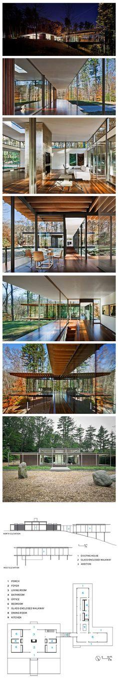 Glass/Wood House by Kengo Kuma & Associates (via Daily Icon)